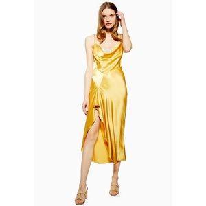 BNWT Topshop Lace Back Satin Midi Slip Dress 4